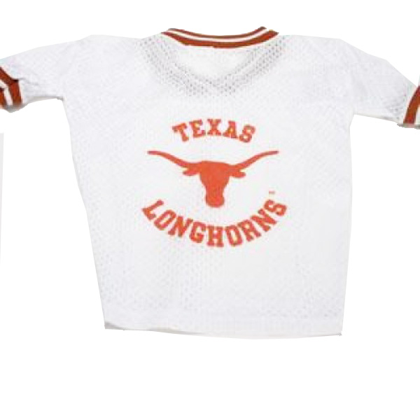 Texas Longhorns Dog Jersey - White