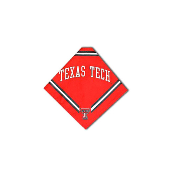 Texas Tech Dog Bandana - Red