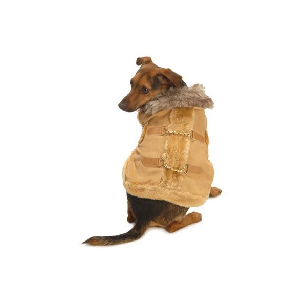 The Aspen Coat by NY Dog - Tan