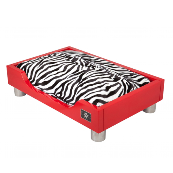 The Madison Dog Bed - Fire Red
