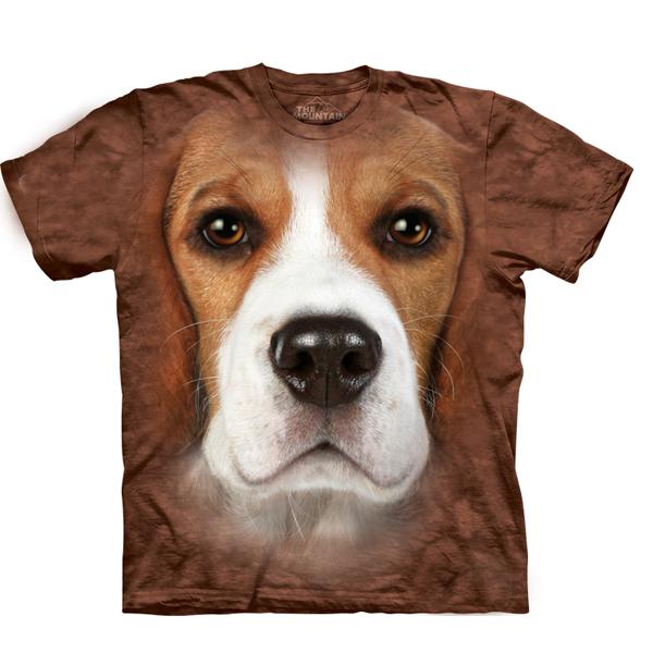 The Mountain Human T-Shirt - Beagle Face
