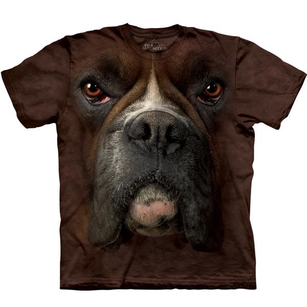 The Mountain Human T-Shirt - Boxer Face