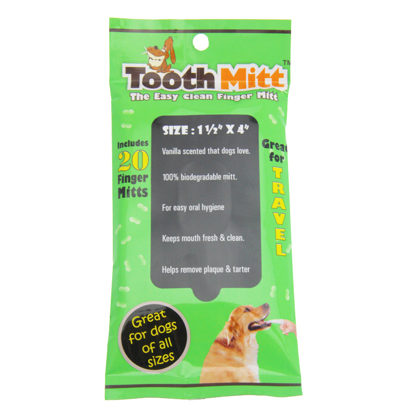 Tooth Mitt Dog Teeth Cleaner