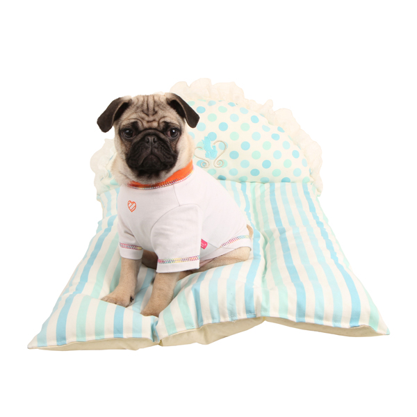 Tootsie Dog Bed by Pinkaholic - Blue