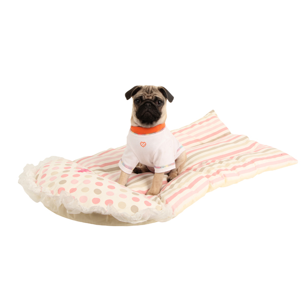 Tootsie Dog Bed by Pinkaholic - Pink