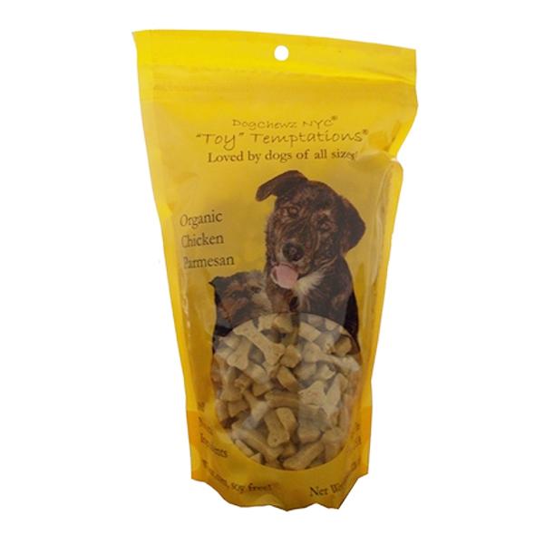 Toy Temptations Dog Treats - Organic Chicken Parmesan