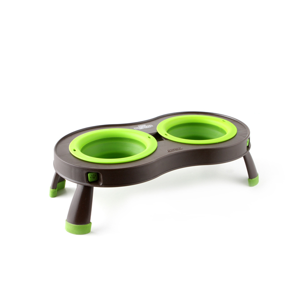 Traveling Pet Feeder by Popware - Green