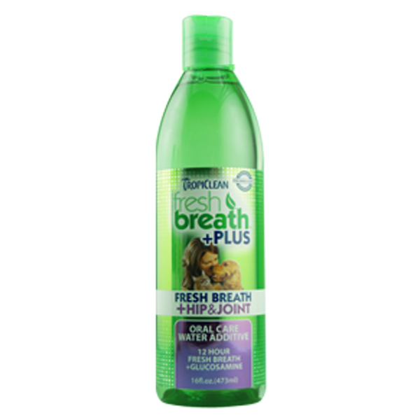 Tropiclean Fresh Breath Pet Water Additive Plus - Hip & Joint