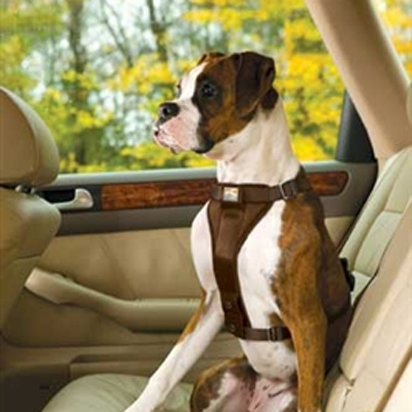 Tru-Fit Smart Dog Harness by Kurgo - Brown