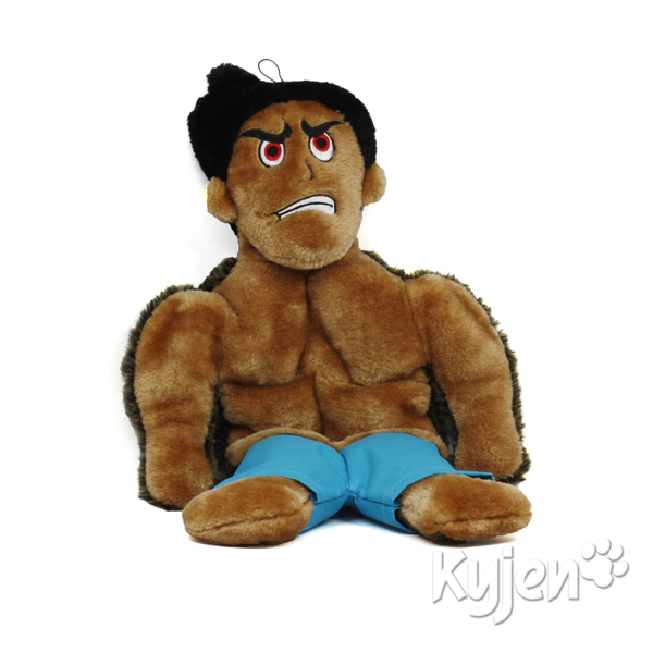Tuff Guy Tony Squeaker Mat Dog Toy