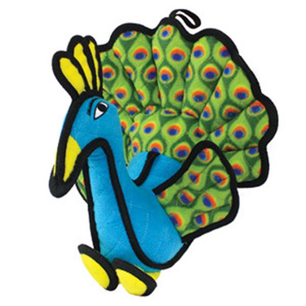 Tuffy Dog Toys - Peyton the Peacock