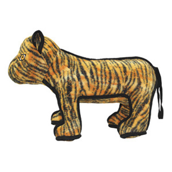 Tuffy Tatters the Tiger Dog Toy