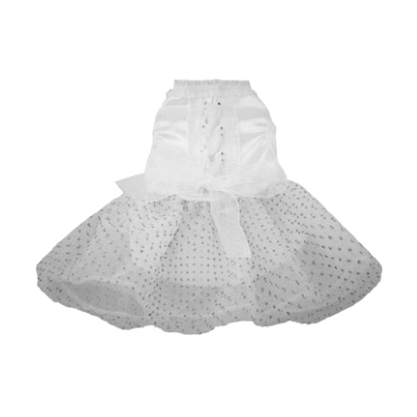 Tulle and Organza Dog Wedding Dress