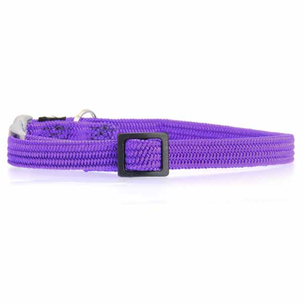 Twice as Nice Kitty Break-Away Cat Collar - Purple