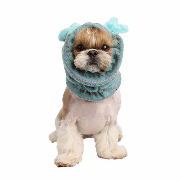 Twilight Dog Snood by Pinkaholic - Aqua