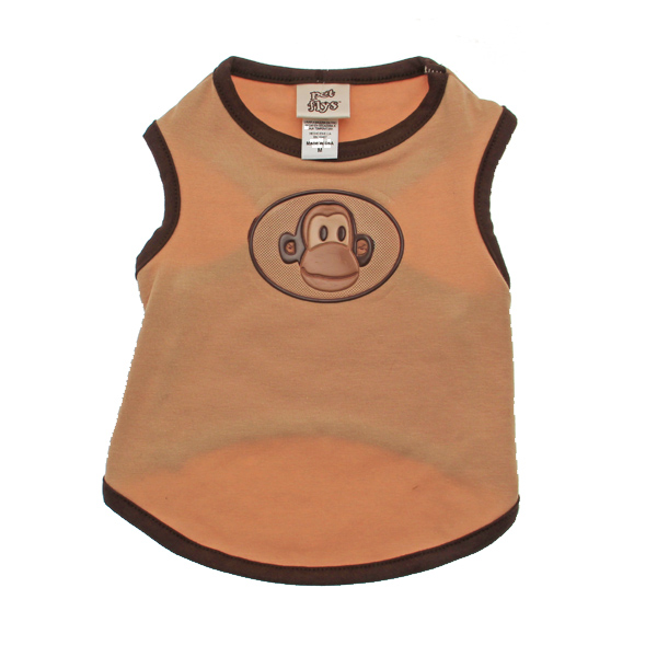 Monkey Dog Tank Top with Scented Patch