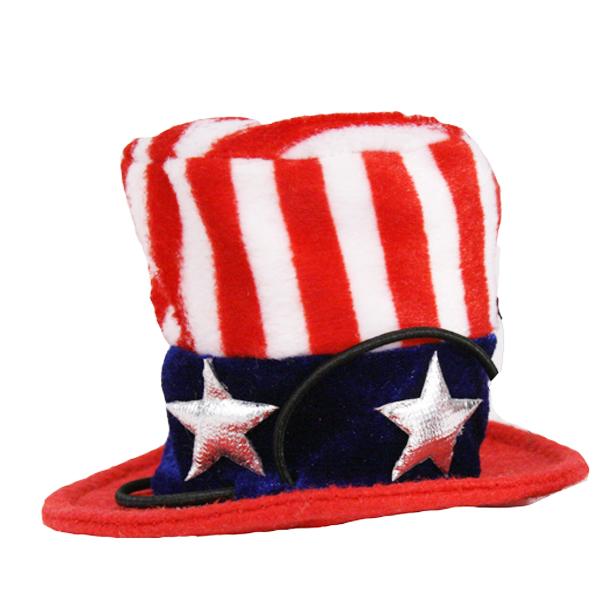 Uncle Sam Dog Hat