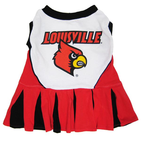 University of Louisville Cardinals Cheerleader Dog Dress