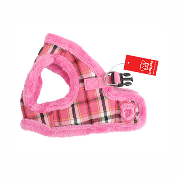 Uptown Dog Harness by Puppia - Pink