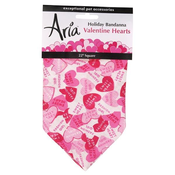 Valentine Hearts Dog Bandana