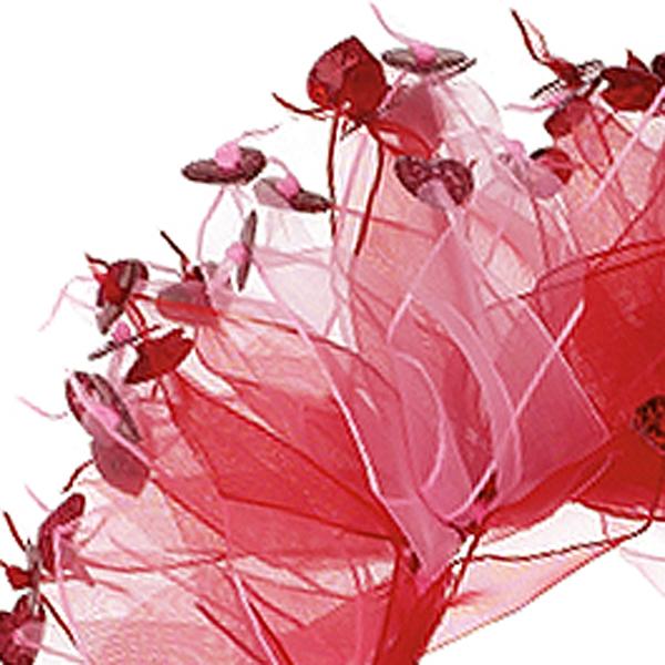 Valentine's Day Dog Scrunchy - Red