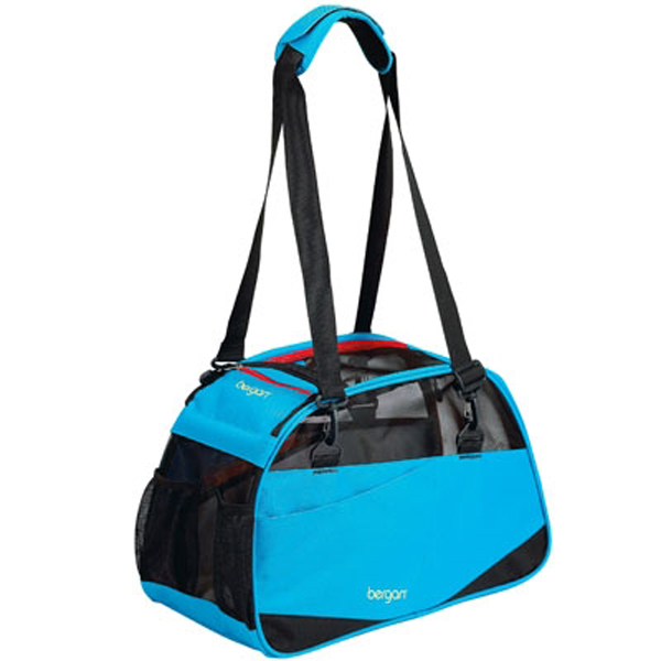 Voyager Comfort Pet Carrier from Bergan - Blue with Black