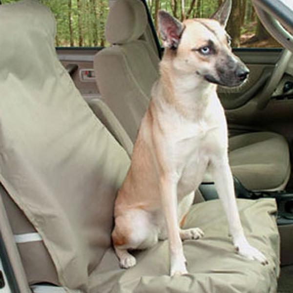 Waterproof Bucket Pet Seat Cover - Beige