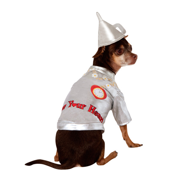 Wizard of Oz's Tin Man Dog Halloween Costume
