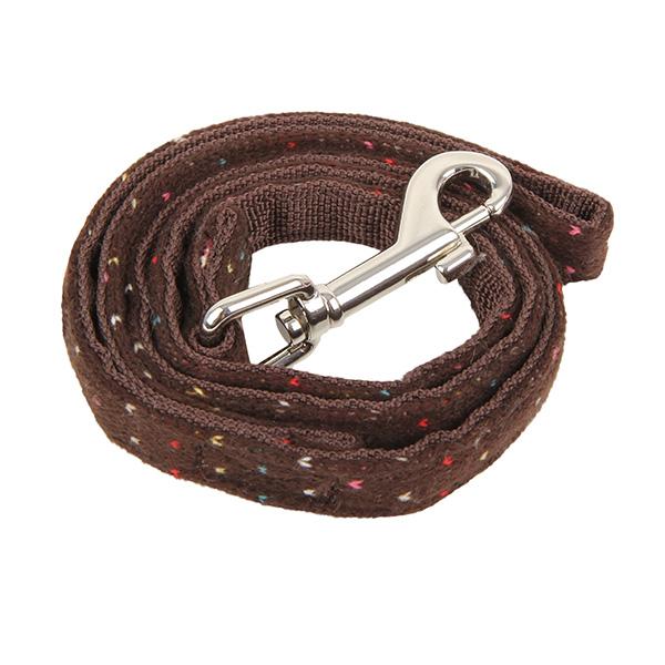 Yuppie Dog Leash by Puppia - Brown