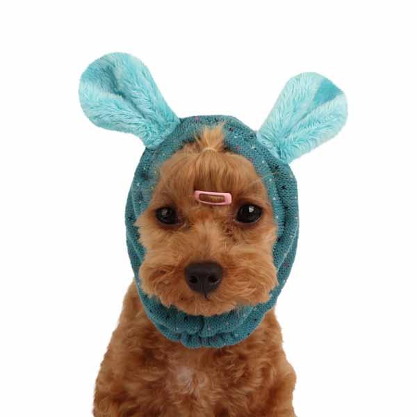 Yuppie Dog Snood by Puppia - Aqua