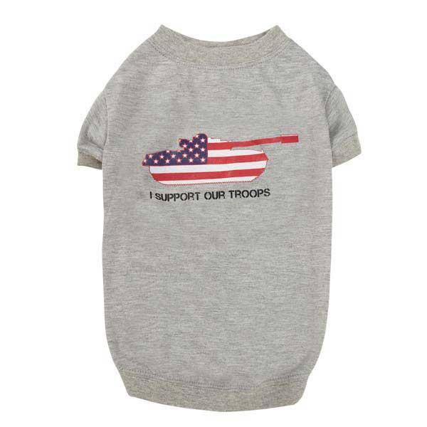 Zack & Zoey America's Pup Dog T-Shirt - Tank