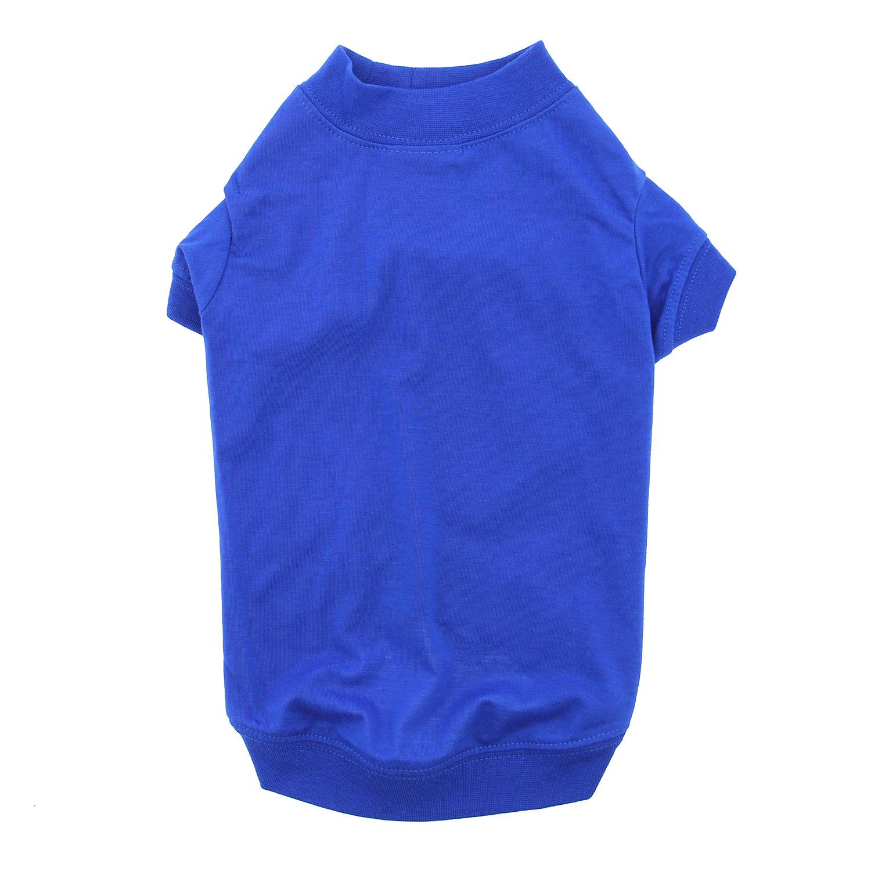 Zack & Zoey Basic Dog T-Shirt - Nautical Blue