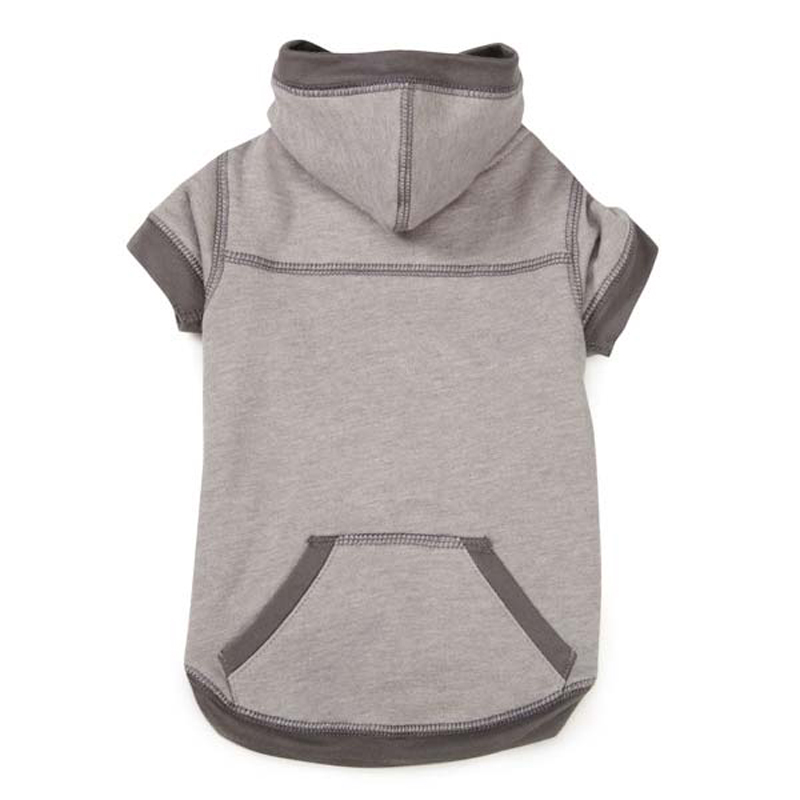 Zack and Zoey Chill-Ax Dog Hoodie - Gray