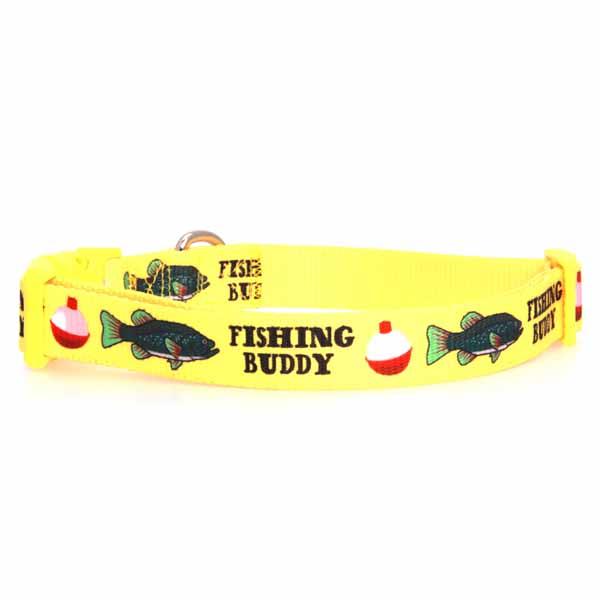 Zack & Zoey Fishing Buddy Dog Collar