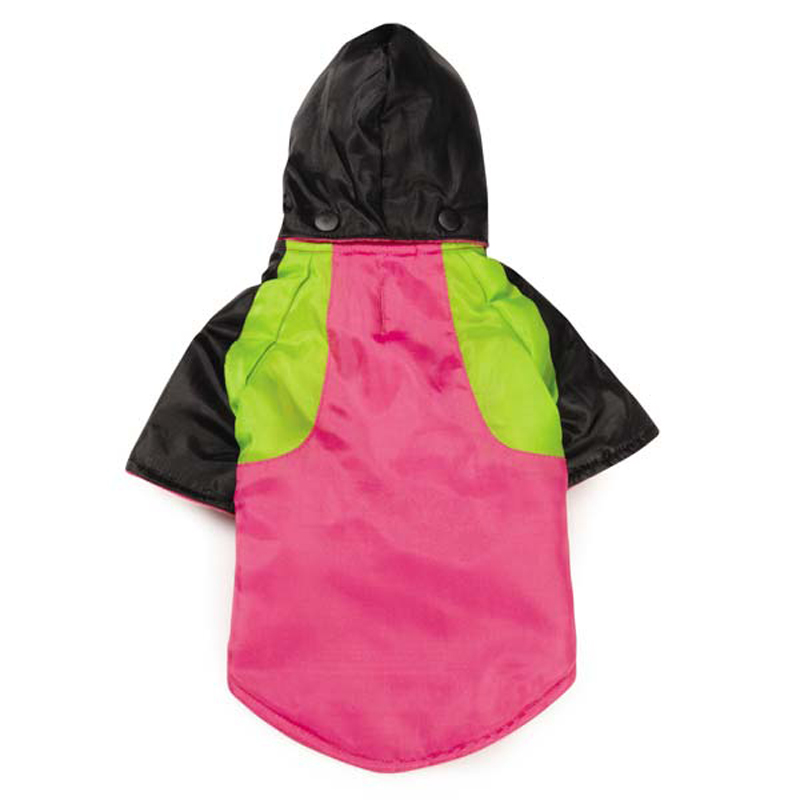 Zack and Zoey Fluoro Dog Parka - Raspberry