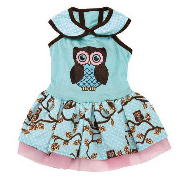 Zack & Zoey Hoot and Howl Dog Dress