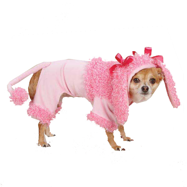 Pink Poodle Halloween Dog Costume