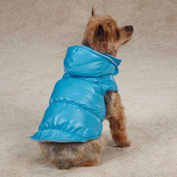 Snow Lodge Dog Vest - Blue