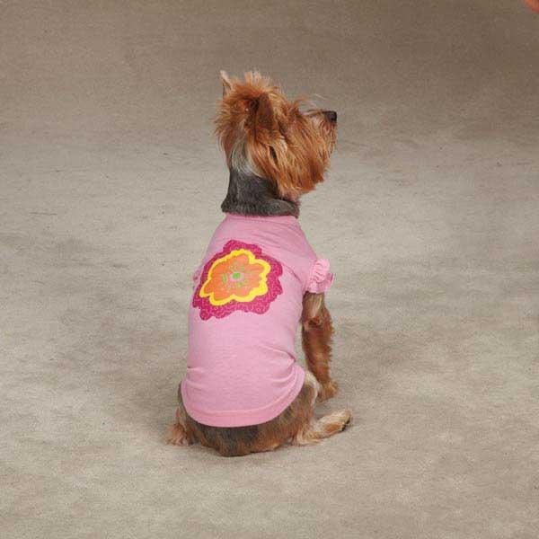 Zack & Zoey Spring Garden Dog T-Shirt