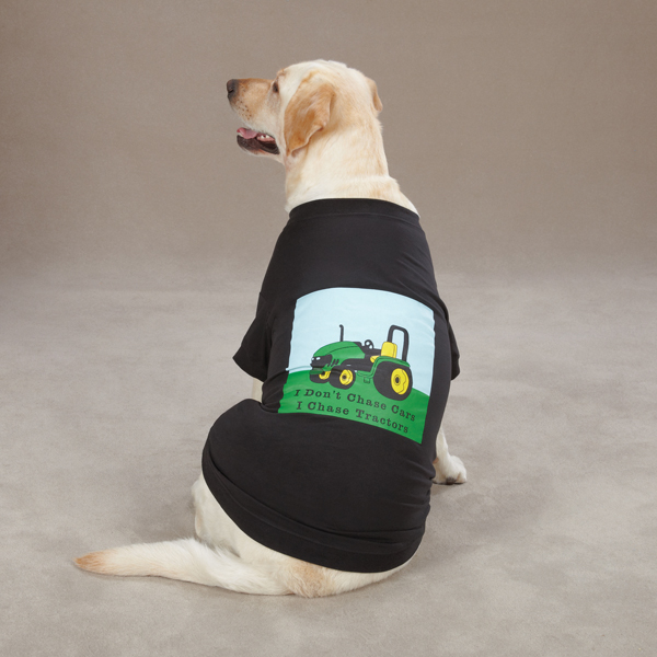 Zack & Zoey Tractor T-Shirt - Black