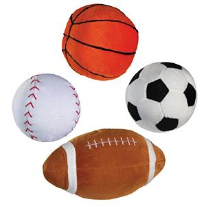 Zanies Boing Sports Balls