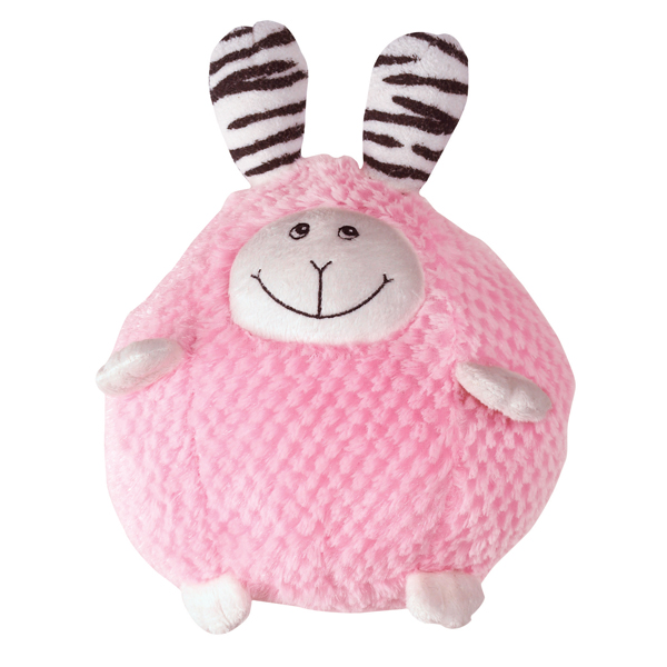 Zanies Bumblies Dog Toy - Pink