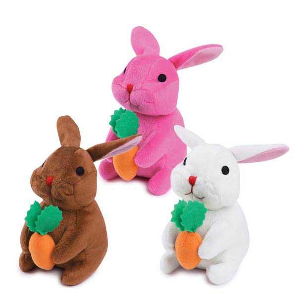 Zanies Carrot Cake Cuddler Dog Toy