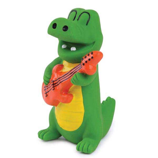 Zanies Groovin Gator Latex Dog Toy - Clarence