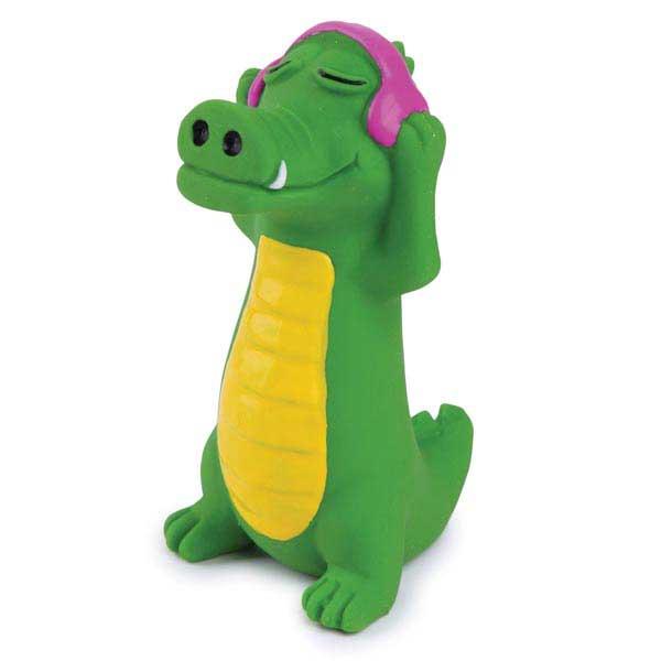 Zanies Groovin Gator Latex Dog Toy - Miles