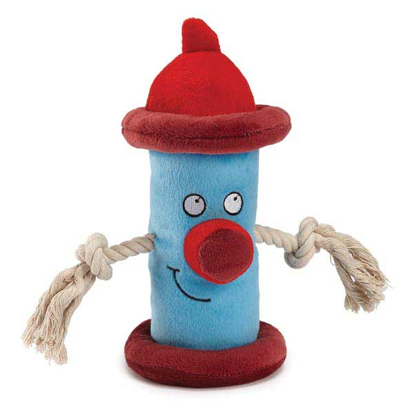 Zanies Happy Hydrant Dog Toy - Blue