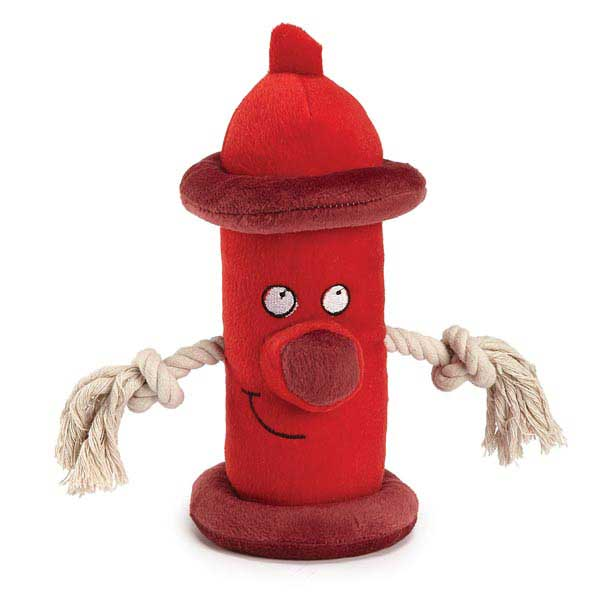 Zanies Happy Hydrant Dog Toy - Red
