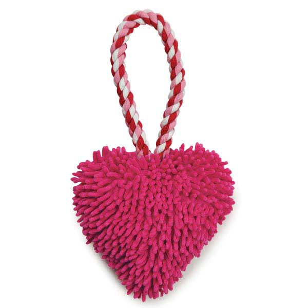 Zanies Heart Felt Moppy Tug Toy