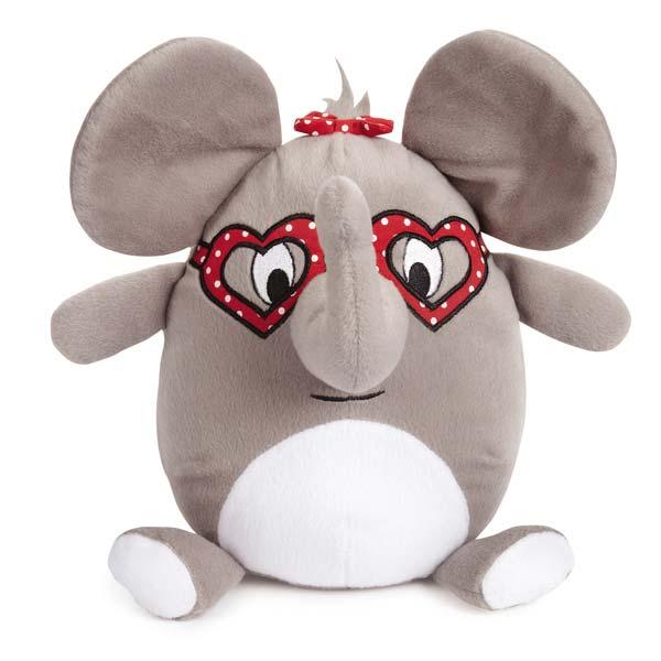 Zanies Love Me Cuddle Buddies Dog Toy - Elephant