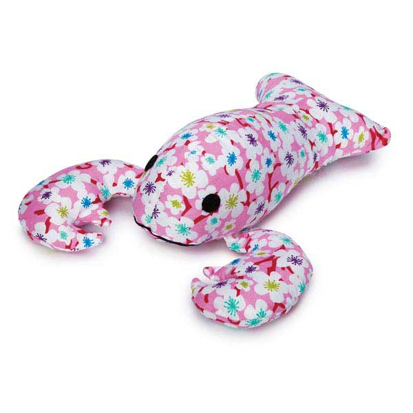 Zanies Lovely Lobster Dog Toy - Pink